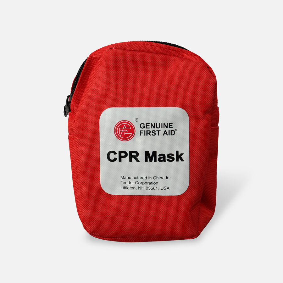 CPR Mask With One Way Valve - 1ct, , large image number 0