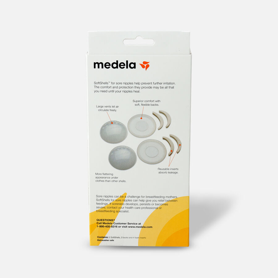 Medela SoftShells for Sore Nipples, , large image number 1