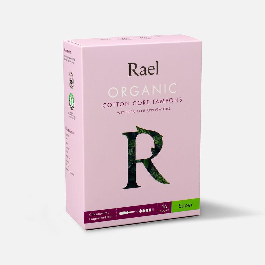 Rael Organic Cotton Core Tampons with BPA-Free Applicators, , large image number 8