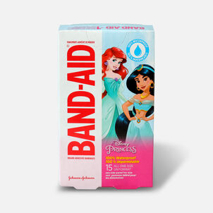 Band-Aid Disney Princess Waterproof Bandages - 15ct