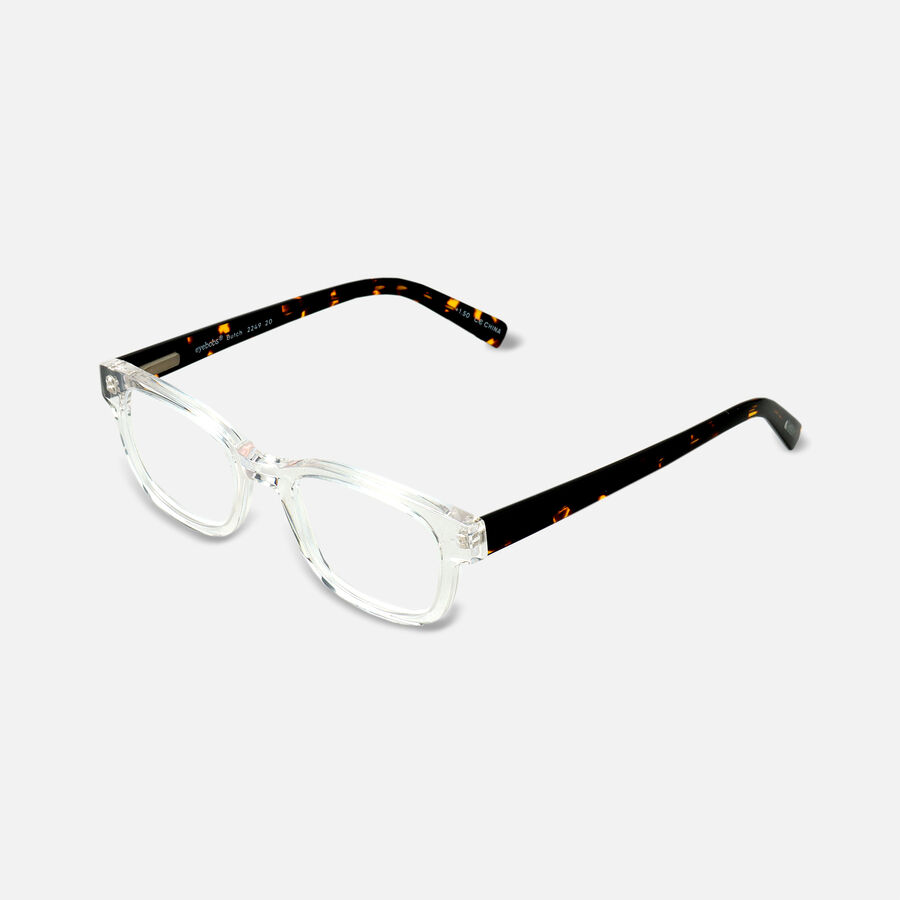 EyeBobs Butch Reading Glasses,Clear, , large image number 2
