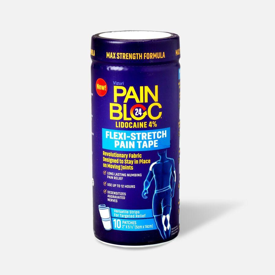 PainBloc24 Flexi-Stretch Pain Tape, 10 ct, , large image number 0