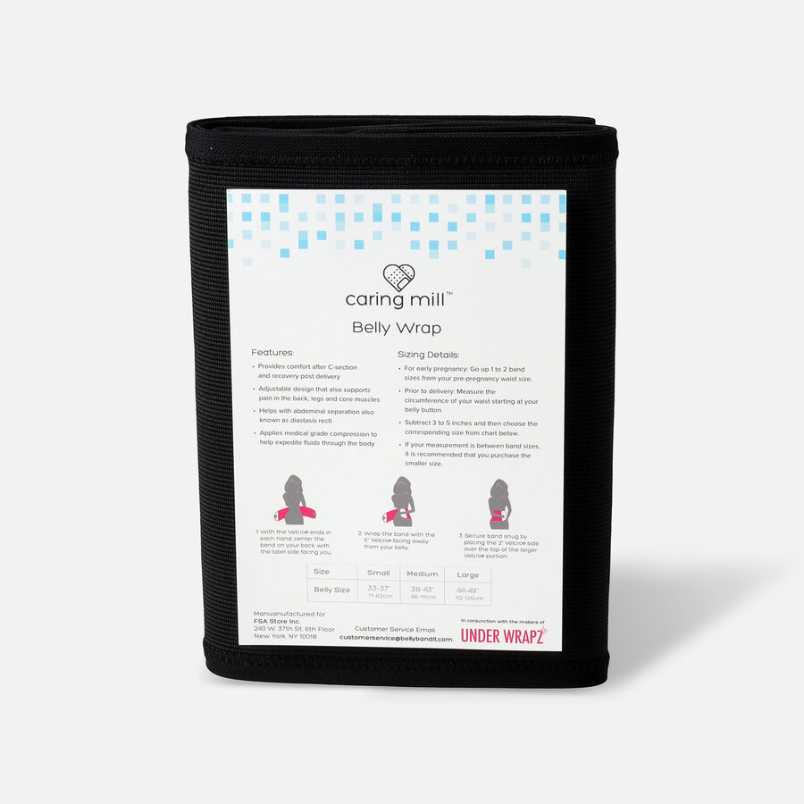 Caring Mill® Belly Wrap by Under Wrapz, , large image number 5