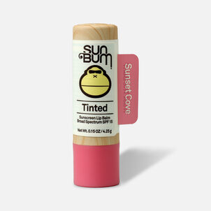 Sun Bum SPF 15 Tinted Lip Balm, Sunset Cove, .15 oz