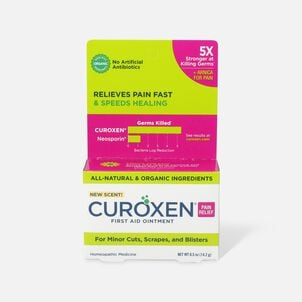 Curoxen First Aid Ointment with Pain Relief, 0.5 oz