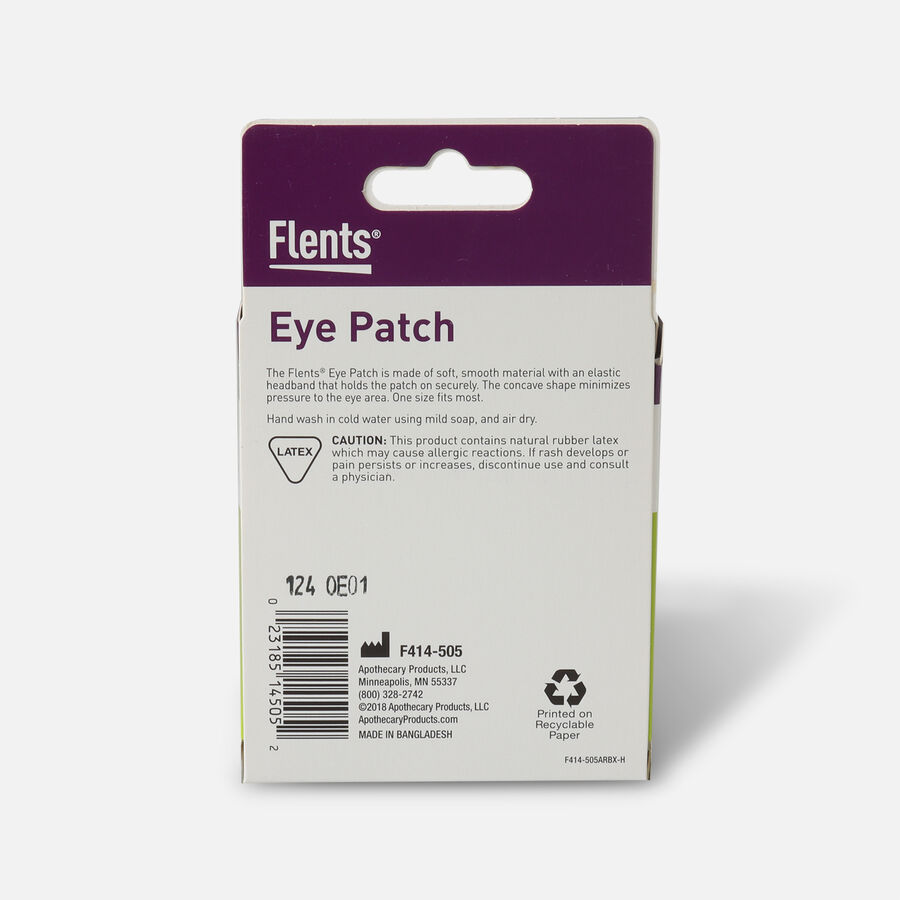 Flents Eye Patch, One Size Fits All, 1 patch, , large image number 1