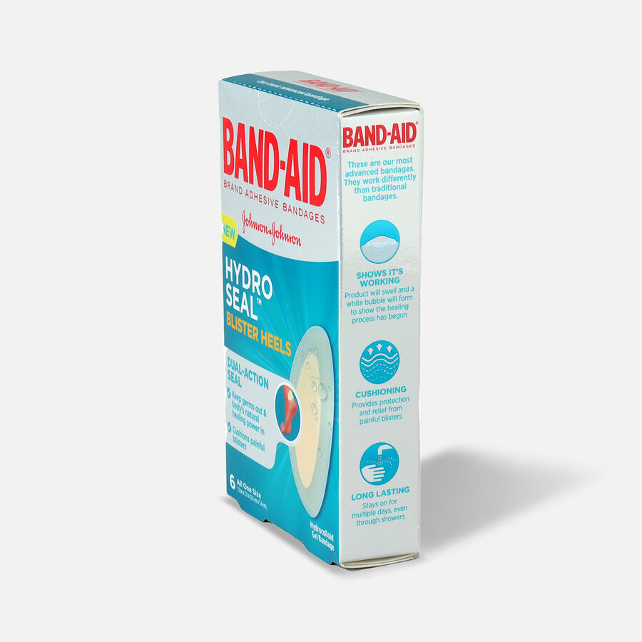 Band-Aid Hydro Seal Adhesive Bandages for Heel Blisters, 6 Count, , large image number 3