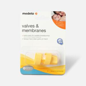 Medela Valves & Membranes, 2 ea