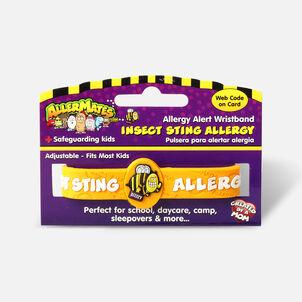 AllerMates Children's Allergy Alert Bracelet - Bee Sting & Insect