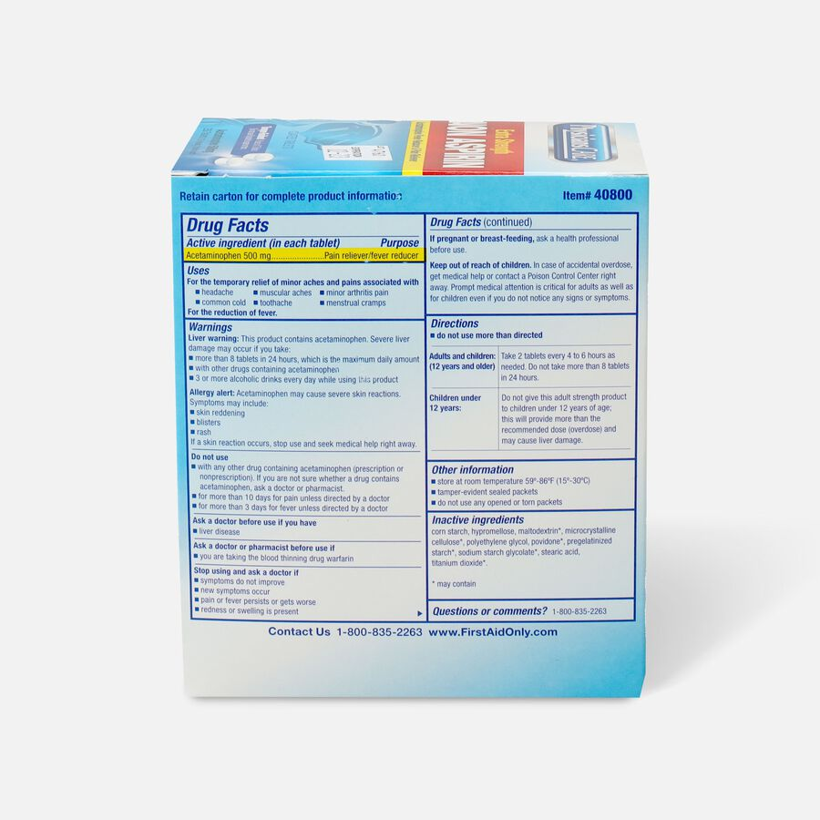 PhysiciansCare Extra Strength Non-Aspirin, 250/Box, , large image number 1