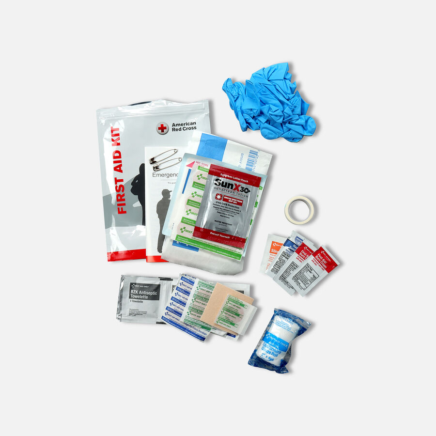 Kit Zip-N-Go Auto First Aid Kit, American Red Cross, , large image number 2