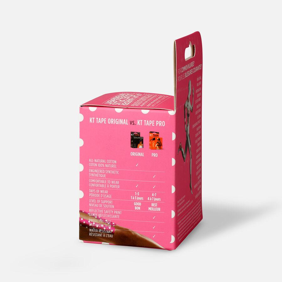"KT Tape Pro Breast Cancer, 20 2""x10"" strips, Pink Breast Cancer, large image number 3"