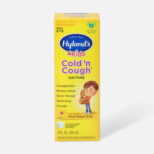 Hyland's 4 Kids Cold and Cough, 4 oz