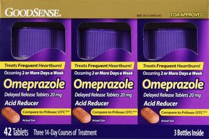 GoodSense® Omeprazole 20 MG Delayed Release Tablets, 42 ct ( 3 Bottles of 14 ct)