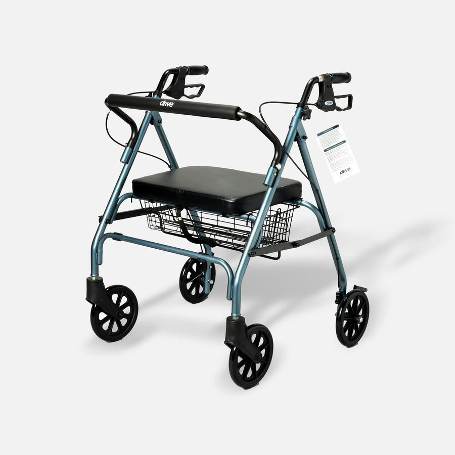 Drive Go-Lite Bariatric Rollator, , large image number 0