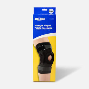 Bell-Horn ProStyle Hinged Patella Knee Wrap, Black