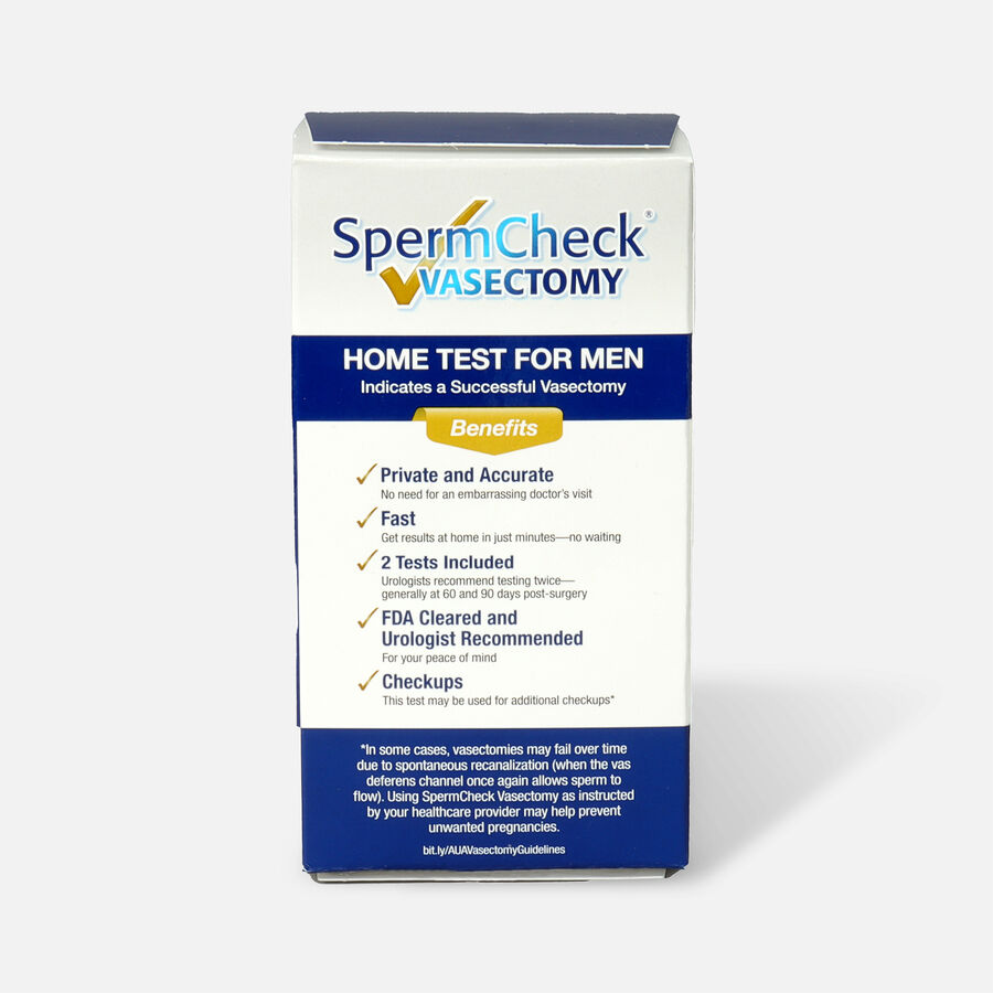 SpermCheck Male Vasectomy Home Test, , large image number 1