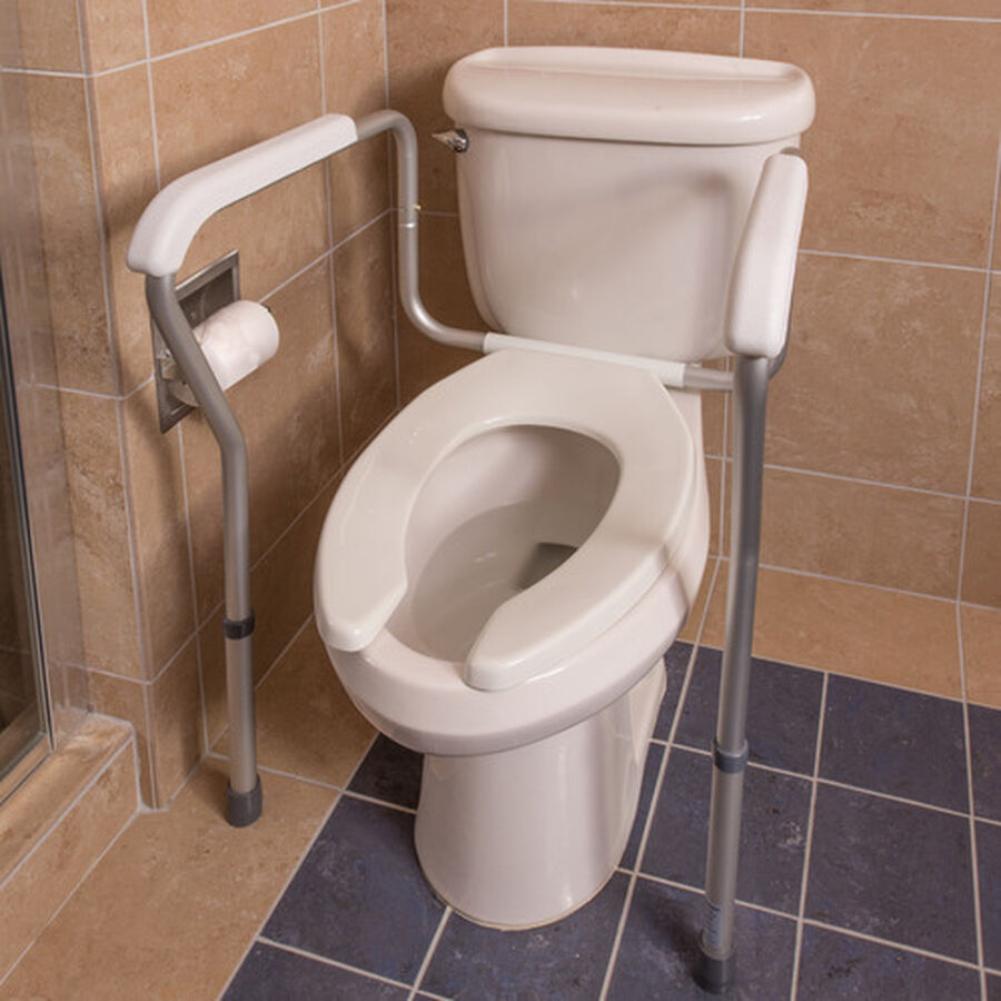 Healthsmart® Germ-Free Toilet Rails Safety Arms, , large image number 2