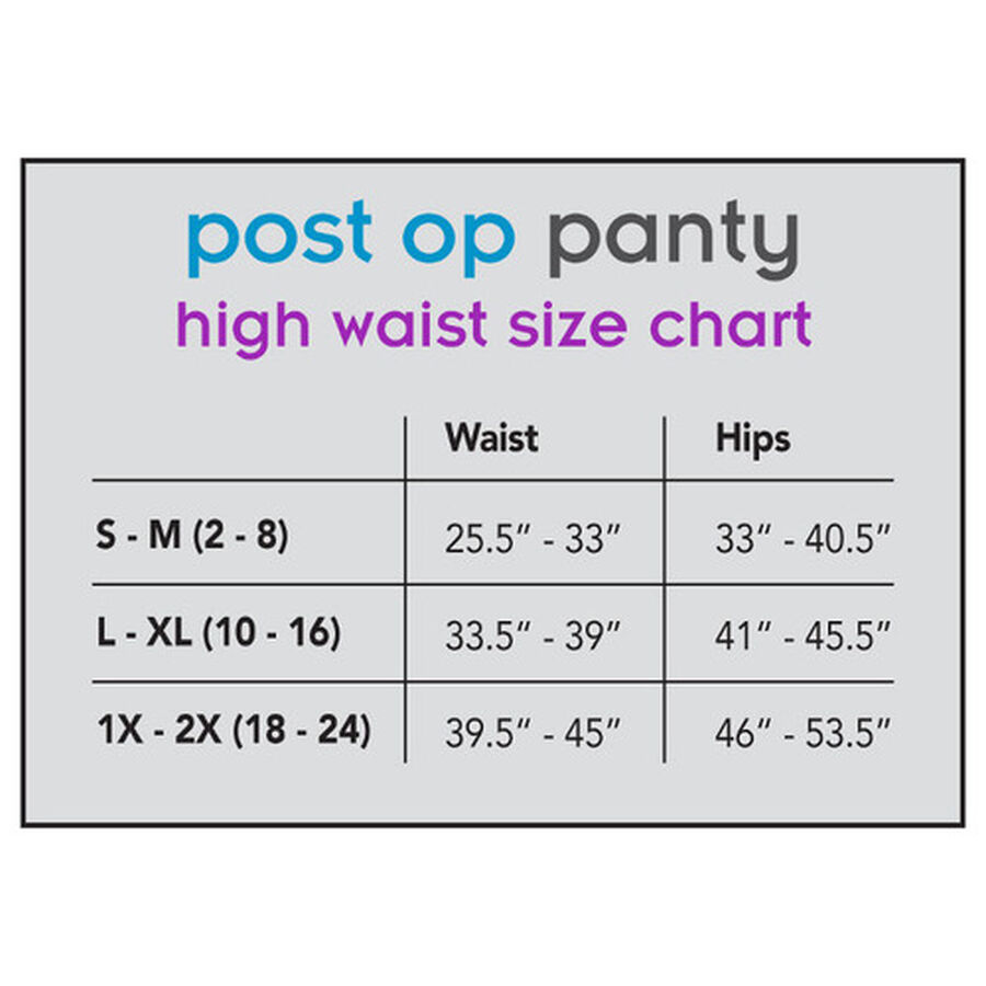 UpSpring Post Op Panty High Waist Compression, Nude, , large image number 4