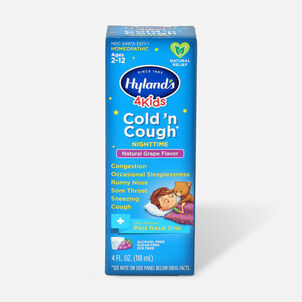 Hyland's 4 Kids Cold 'n Cough 4 Kids Cold 'n Cough Nighttime, 4oz