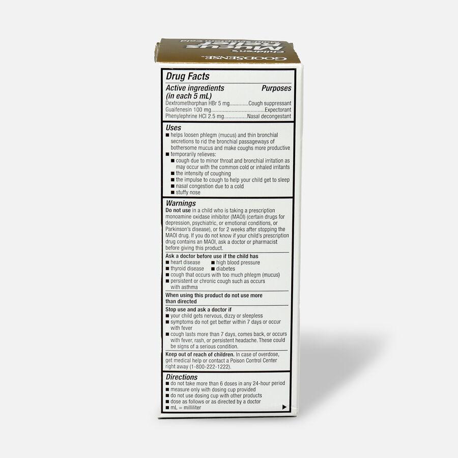 GoodSense® Children's Mucus Relief Multi-Symptom Berry Flavor, 4 fl oz, , large image number 1