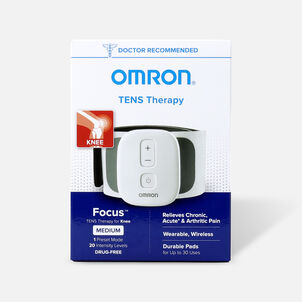 OMRON Focus TENS Therapy for Knee, Wearable, Wireless, Medium