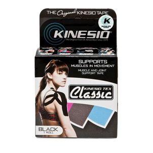 Kinesio Tex Classic Tape Standard Roll, Black