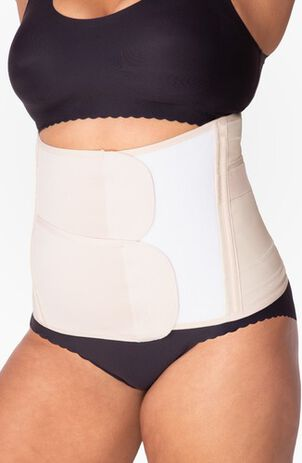 Belly Bandit Luxe Belly Wrap, Nude, Medium