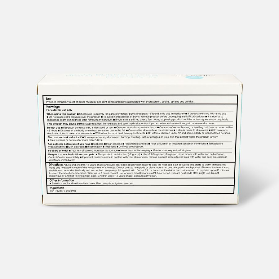 Caring Mill™ Air-Activated Back Heating Wrap, , large image number 1