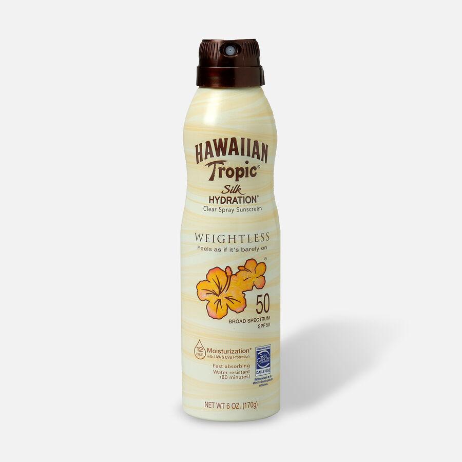Hawaiian Tropic Silk Hydration Weightless Sunscreen Spray, 6oz., , large image number 4