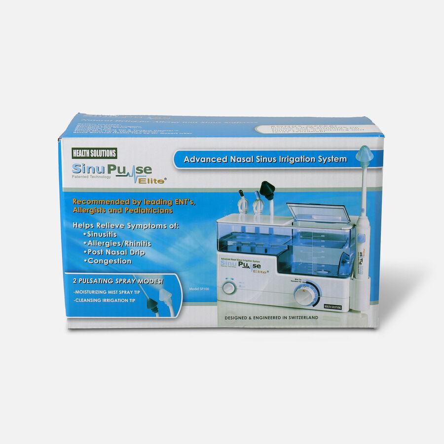 SinuPulse Elite, Advanced Nasal Sinus Irrigation System, Model SP100, , large image number 0
