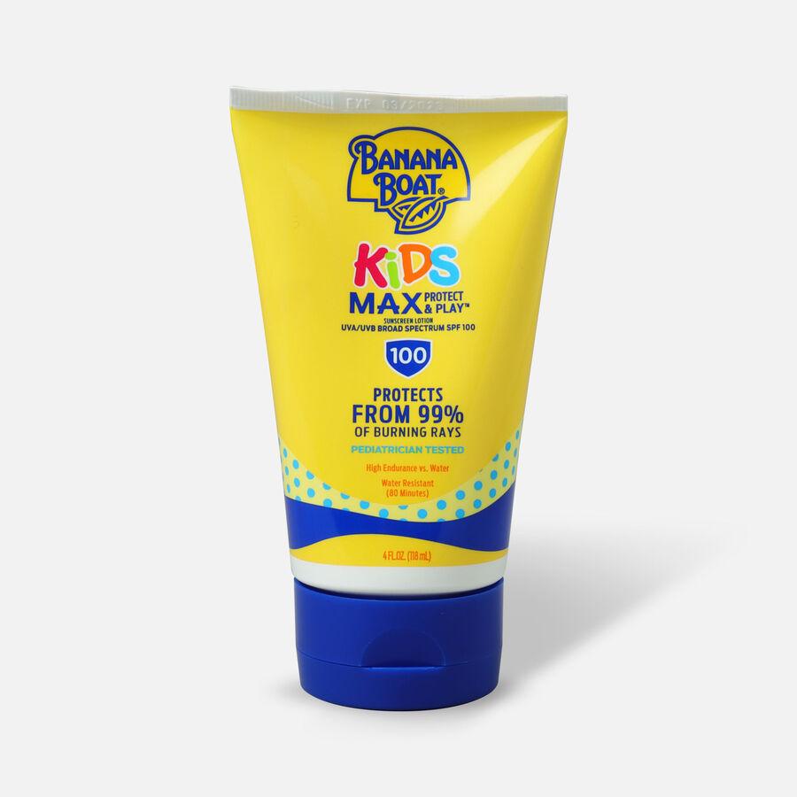 Banana Boat Kids Sunscreen Lotion SPF 100, 4 oz, , large image number 0