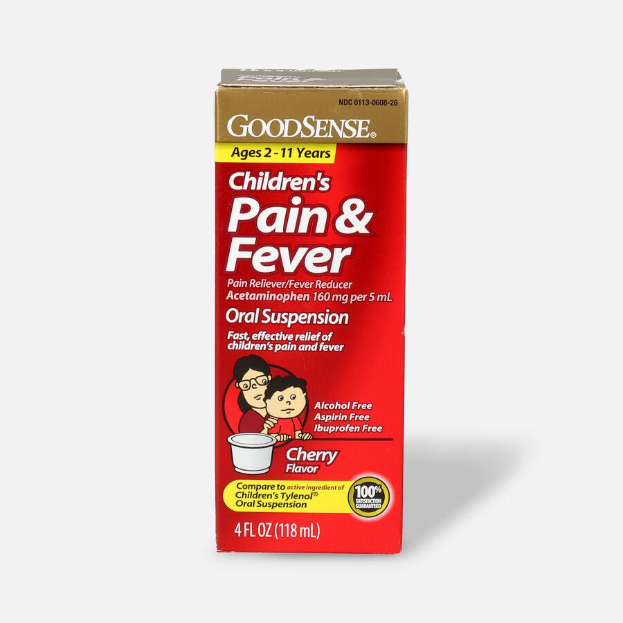 GoodSense® Child Pain Relief 160 mg Liquid, 4 fl oz, , large image number 1