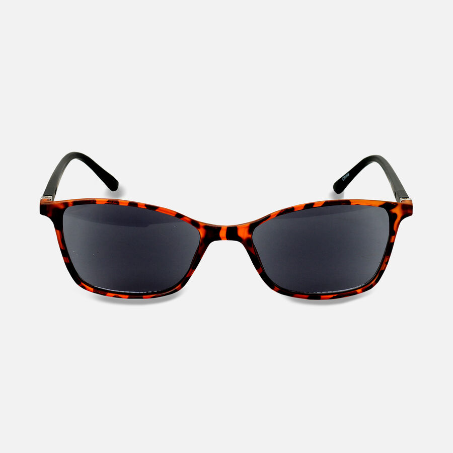 Sunglass Reader with Smoke Tint, Matte Demi, , large image number 0