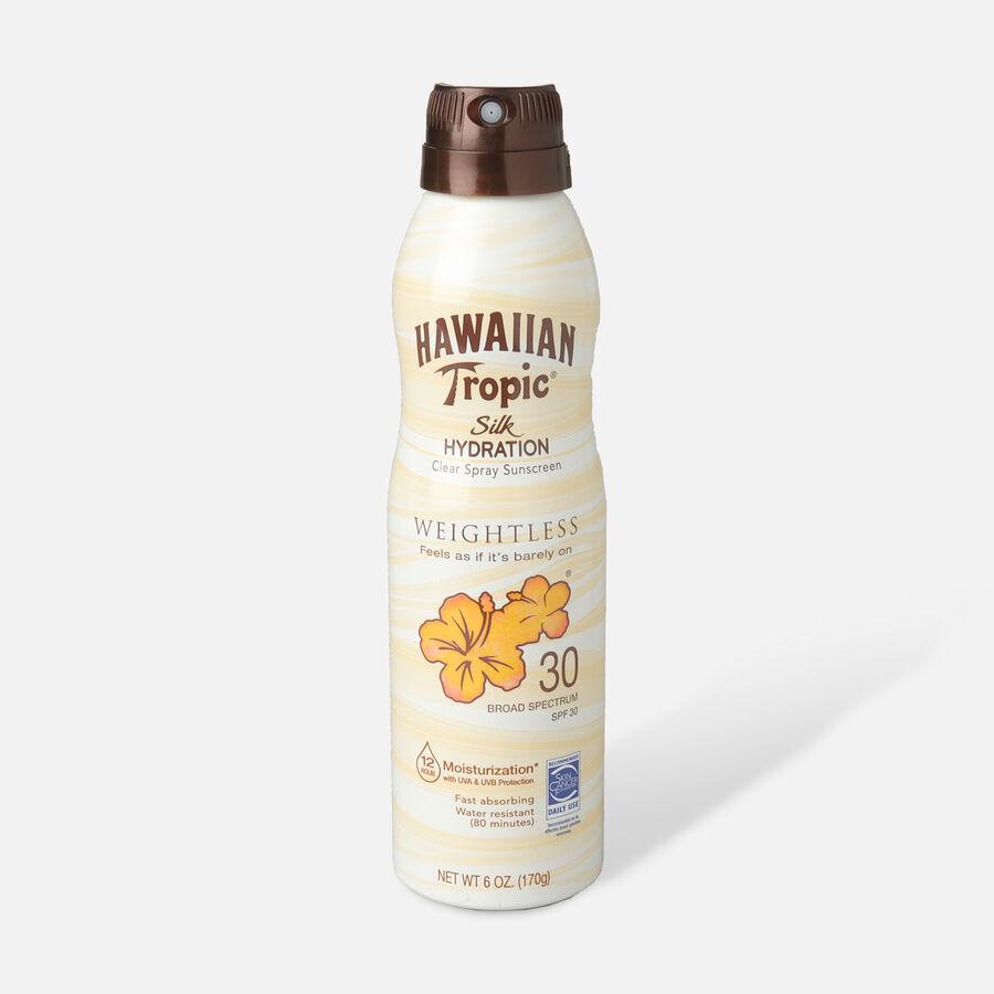 Hawaiian Tropic Silk Hydration Weightless Sunscreen Spray, 6oz., , large image number 2