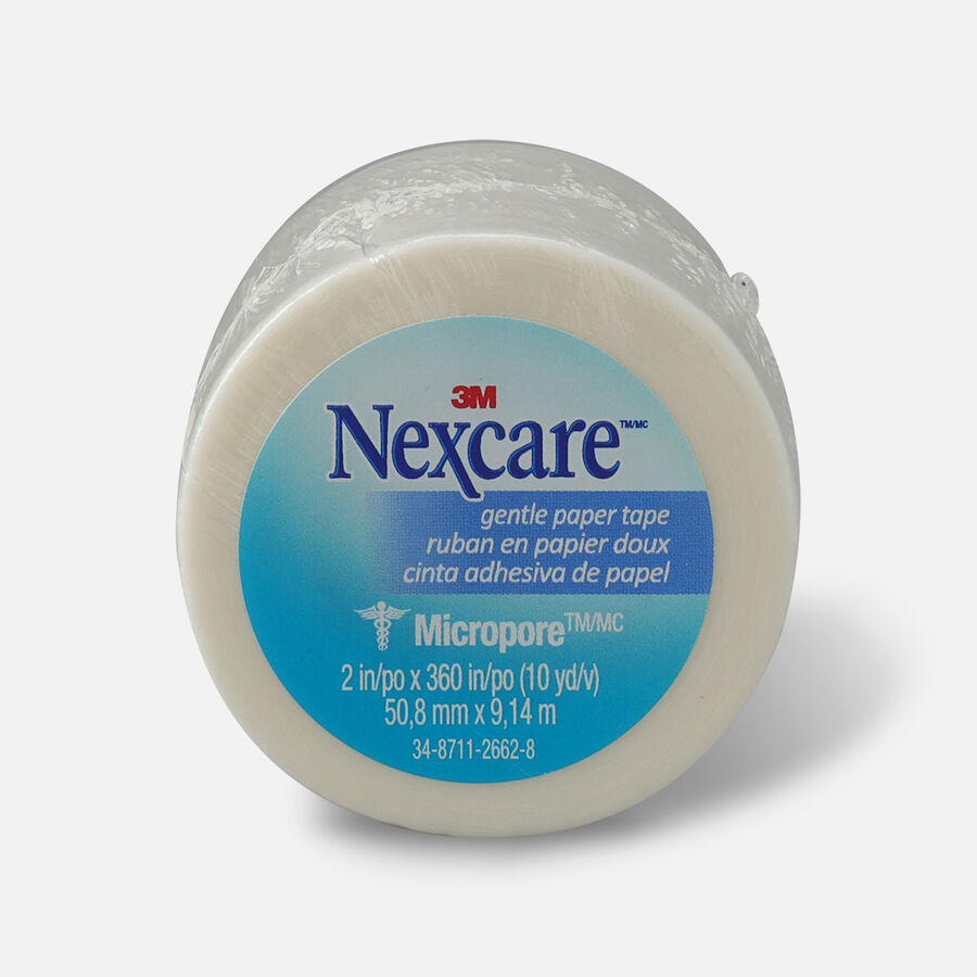 """Nexcare Gentle Paper Tape 2"""" x 10 yds.- 1ct, , large image number 0"""