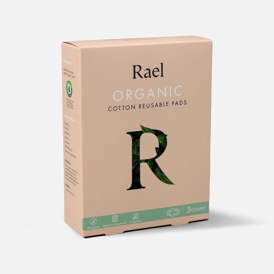 Rael Organic Cotton Reusable Pads, , large image number 2