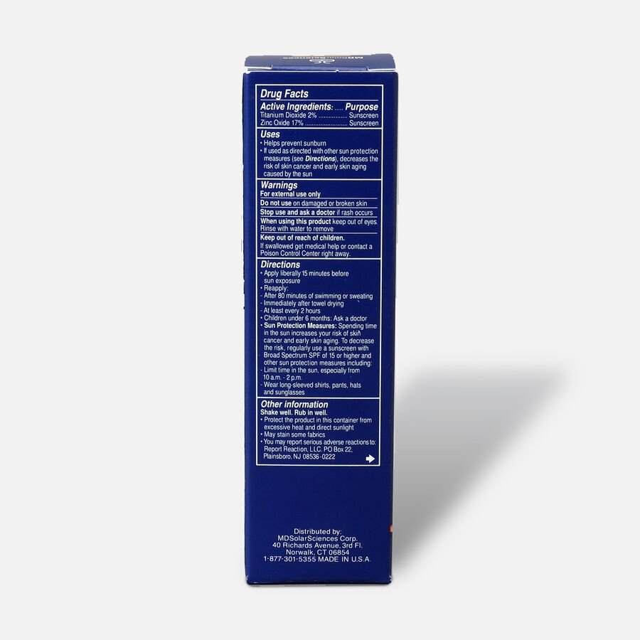 MD Crème Mineral Beauty Balm SPF 50 Face Sunscreen Medium/Dark, 1.23 oz, , large image number 2