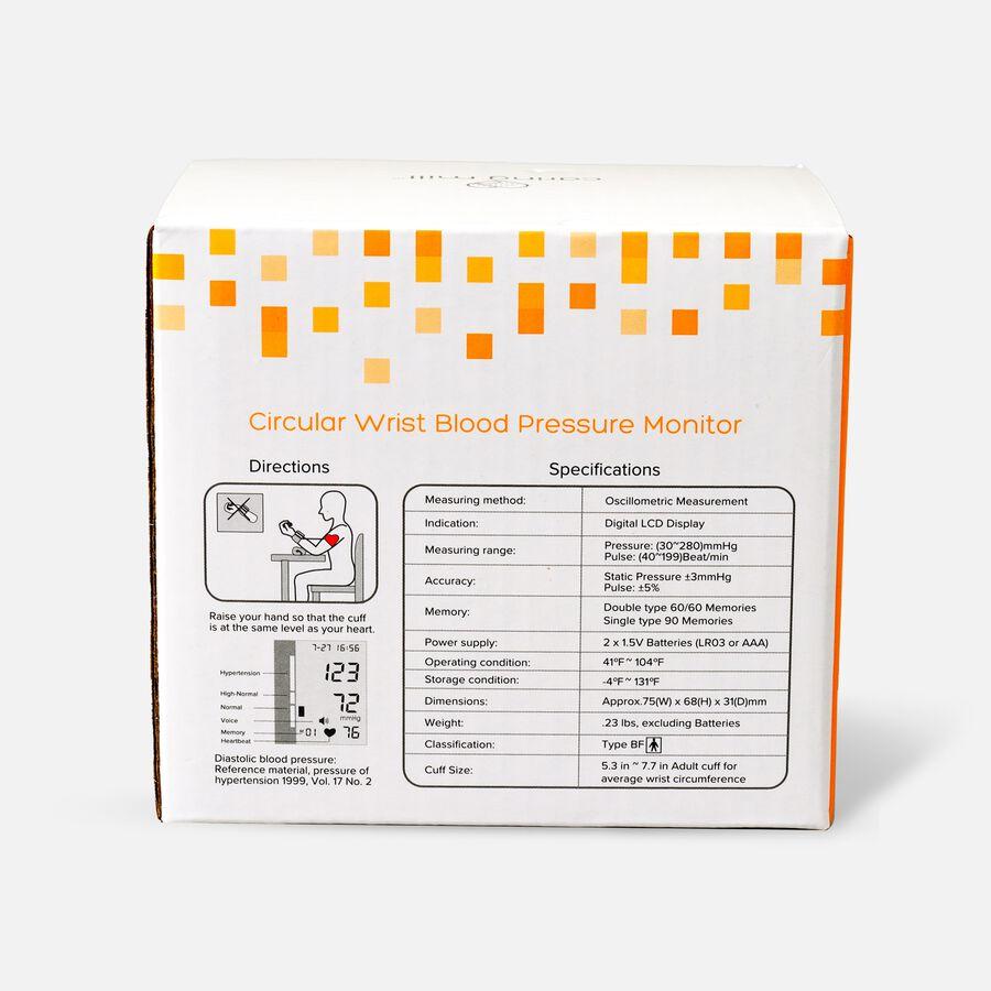 Caring Mill® Circular Wrist Blood Pressure Monitor, , large image number 1