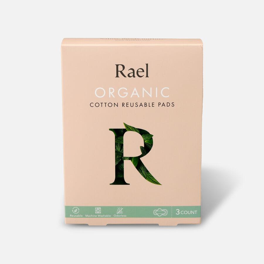 Rael Organic Cotton Reusable Pads, , large image number 6