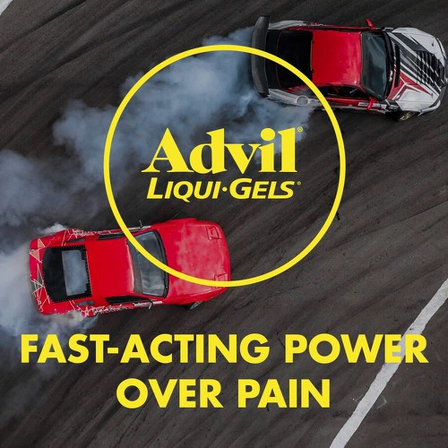 Advil Pain Reliever Fever Reducer Liqui-Gels, 40 ct, , large image number 8