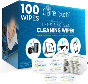 CareTouch Lens Wipes, 100 ct