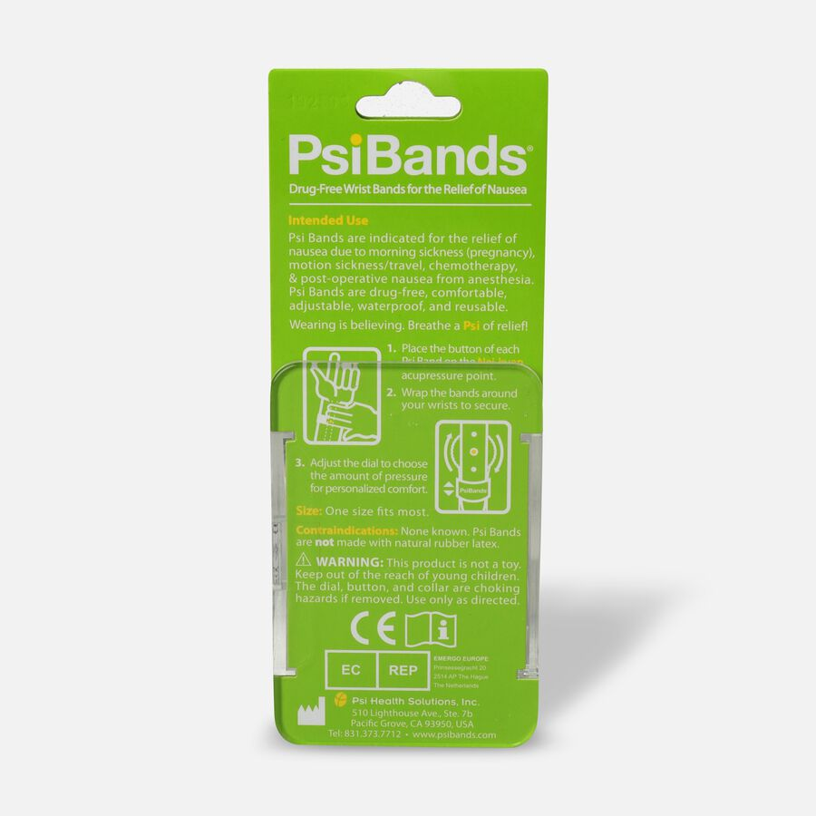 Psi Bands Nausea Relief Wrist Bands - Cherry Blossom, Cherry Blossom, large image number 1