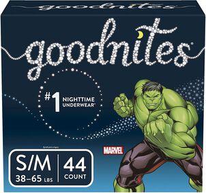 Goodnites Boy's Youth Pants, 44ct