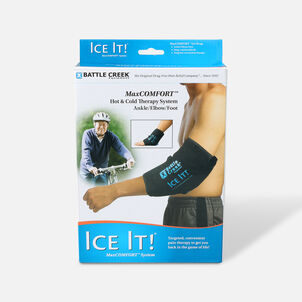 """Battle Creek Ice It! ColdCOMFORT Ankle/Elbow/Foot System 10.5"""" x 13"""""""