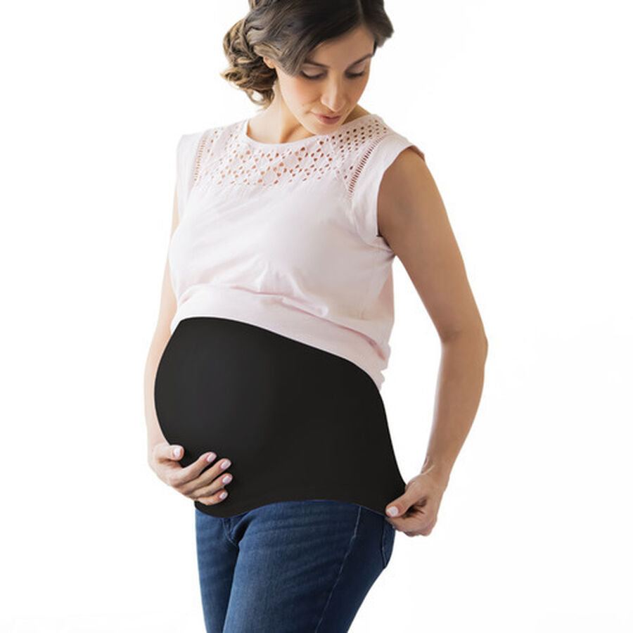 Belly Boost Belly Support, Black, X-Large, , large image number 0