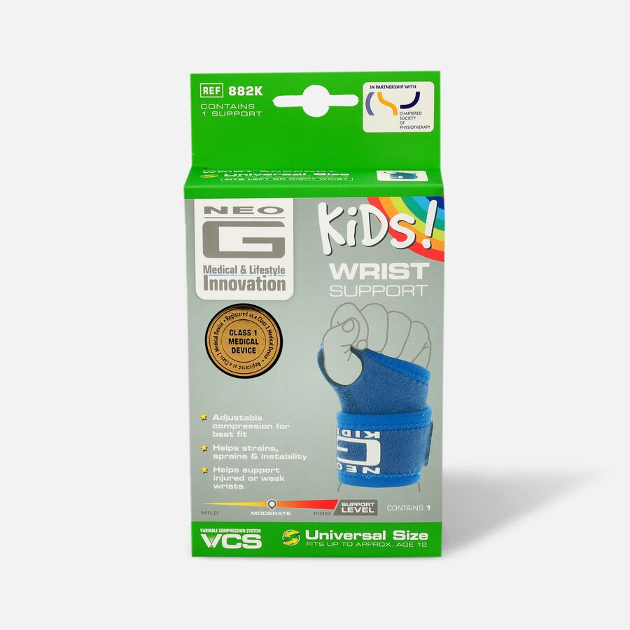 Neo G Kids Wrist Support, One Size, , large image number 0
