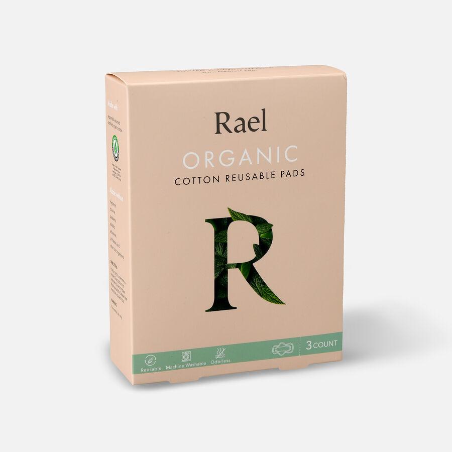 Rael Organic Cotton Reusable Pads, , large image number 8