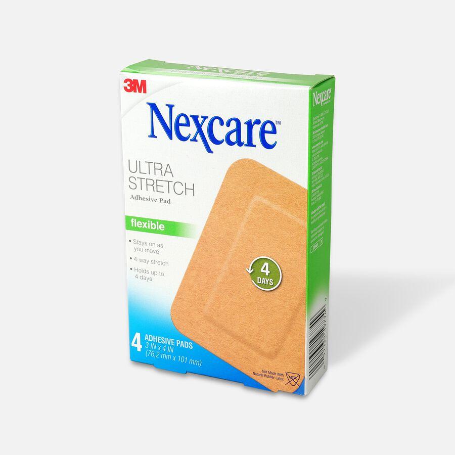"""Nexcare Soft Fabric Adhesive Gauze Pad 3""""x4"""", 4 ea, , large image number 2"""