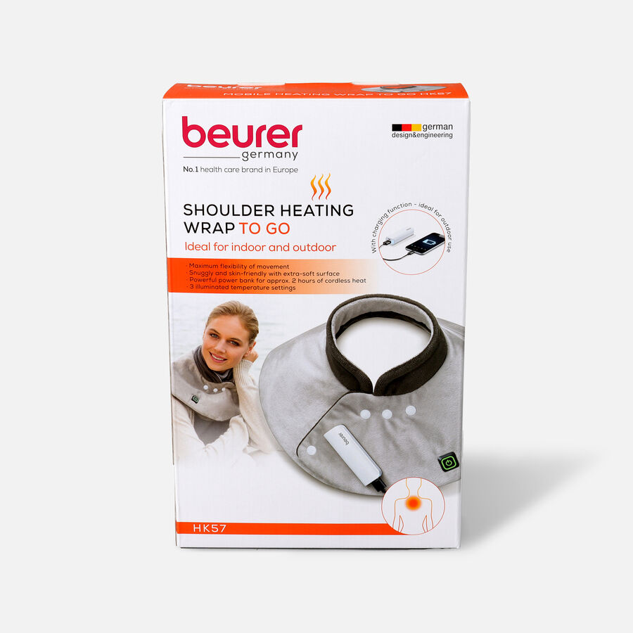Beurer Wireless Neck/Shoulder Heat Pad with Powerbank, , large image number 0